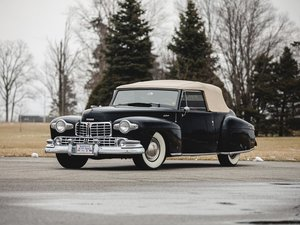 1948 Lincoln Continental Convertible  For Sale by Auction