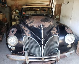 #23119 1941 Lincoln Continental Cabriolet