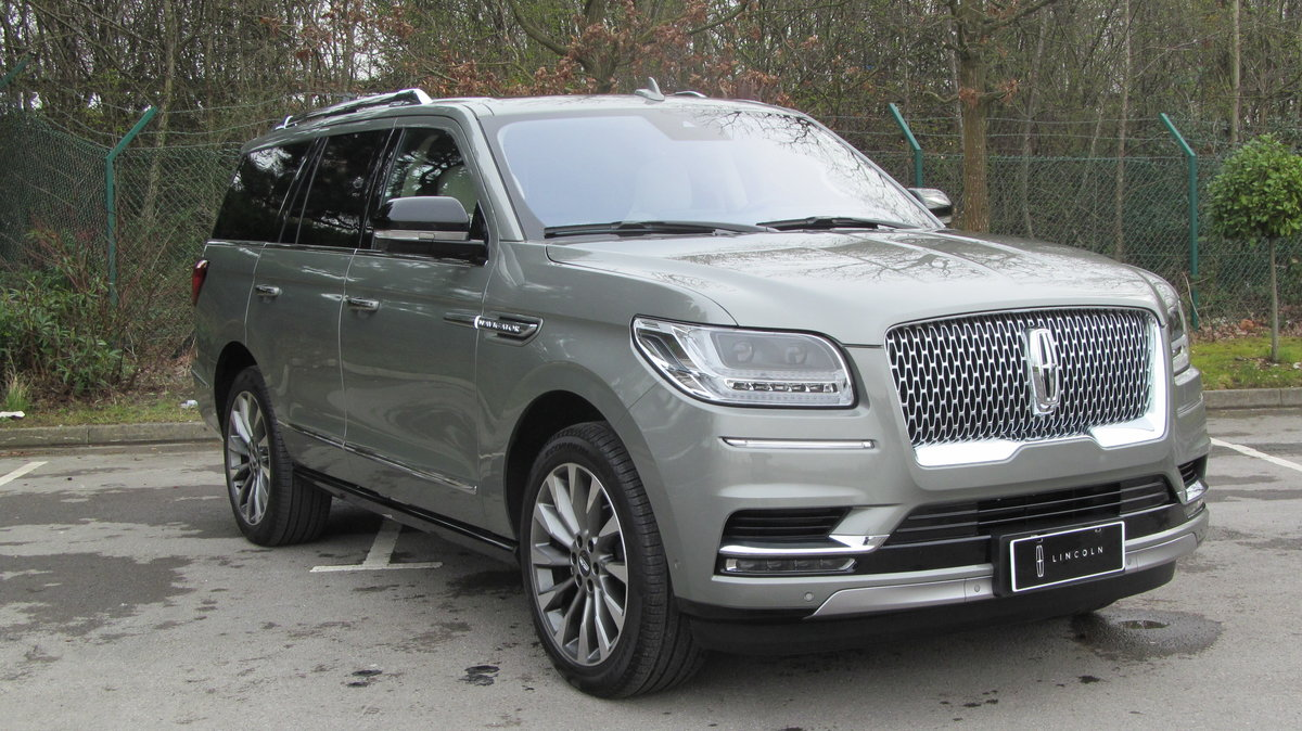 2019 ( 20 reg) Lincoln Navigator Reserve 3.5L Twin Turbo 4x4 For Sale (picture 1 of 6)