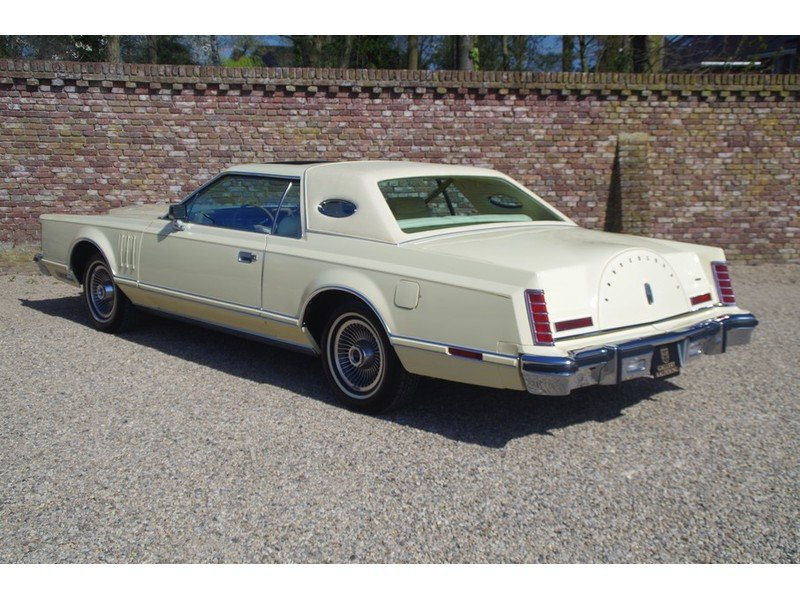 1979 Lincoln Mark V Superb original example, first paint, only 25 For Sale (picture 2 of 6)
