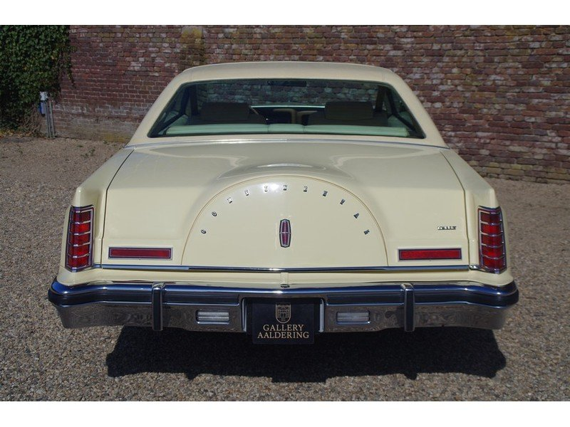 1979 Lincoln Mark V Superb original example, first paint, only 25 For Sale (picture 6 of 6)