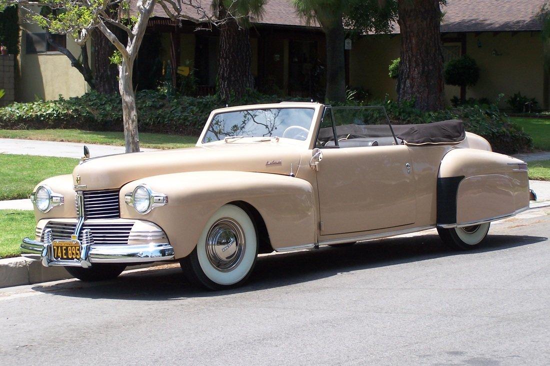1942 Lincoln Continental ** SUPER RARE ** For Sale (picture 1 of 6)