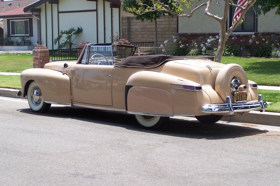 1942 Lincoln Continental ** SUPER RARE ** For Sale (picture 3 of 6)