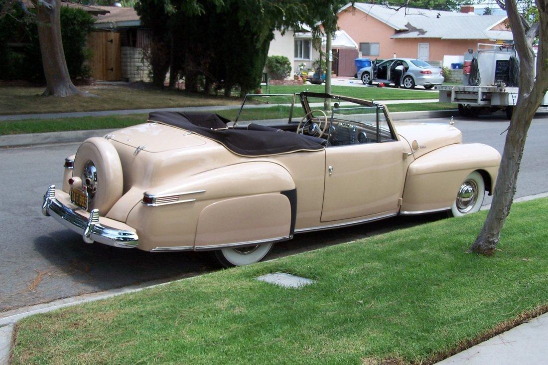 1942 Lincoln Continental ** SUPER RARE ** For Sale (picture 5 of 6)