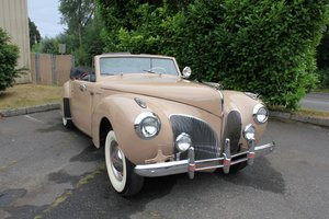 1941 Lincoln Continental  For Sale by Auction