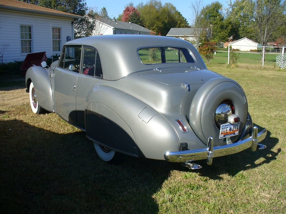1941 Lincoln Continental (Driggs, ID) $49,999 obo For Sale (picture 3 of 6)
