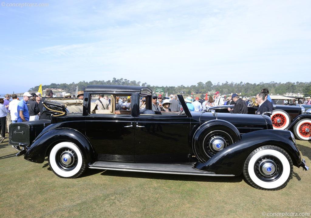 Lincoln Model K semi cabriolet V12 by Brunn RHD