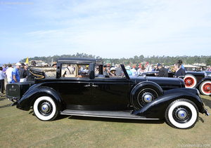 1937 Lincoln Model K semi cabriolet V12 by Brunn RHD