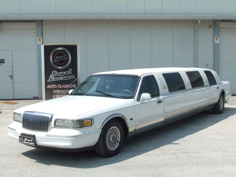 1996 LINCOLN TOWN CAR VERSIONE For Sale (picture 1 of 6)