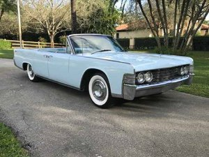 Picture of 1966 Lincoln Continental 4DR Convertible For Sale