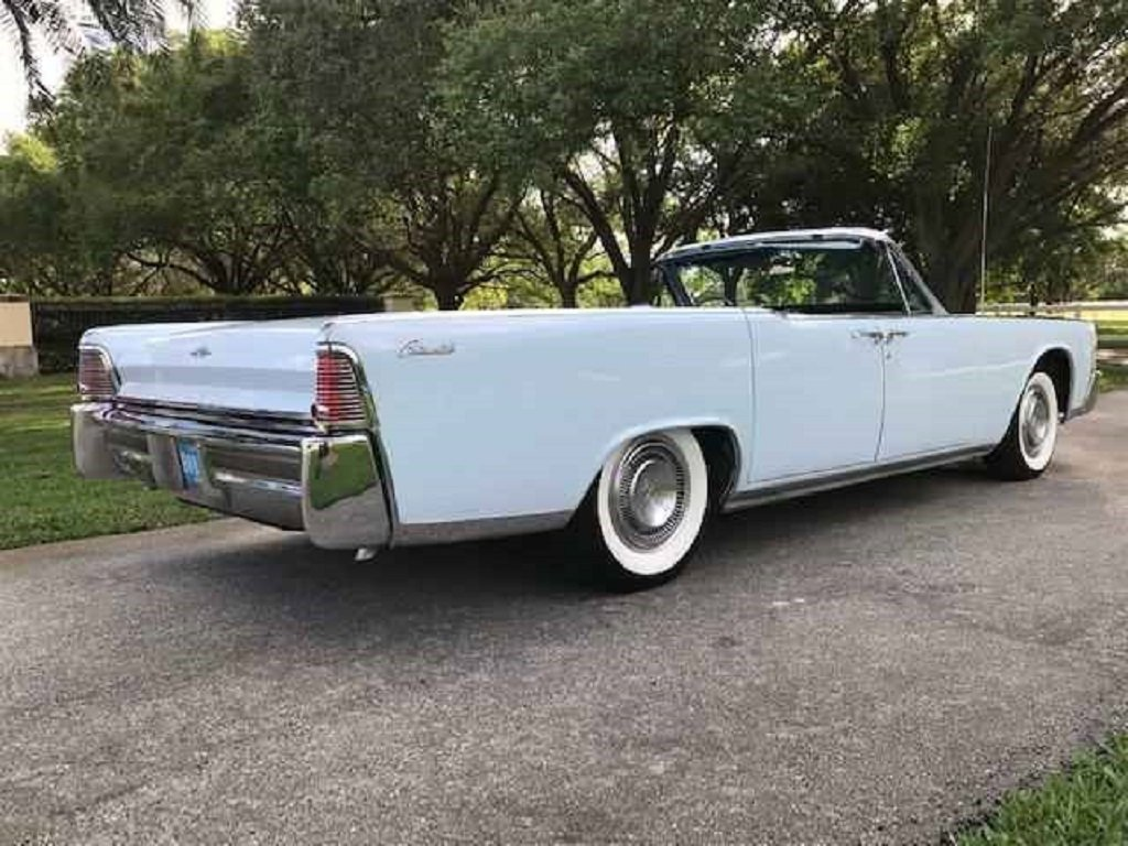 1966 Lincoln Continental 4DR Convertible For Sale (picture 3 of 6)