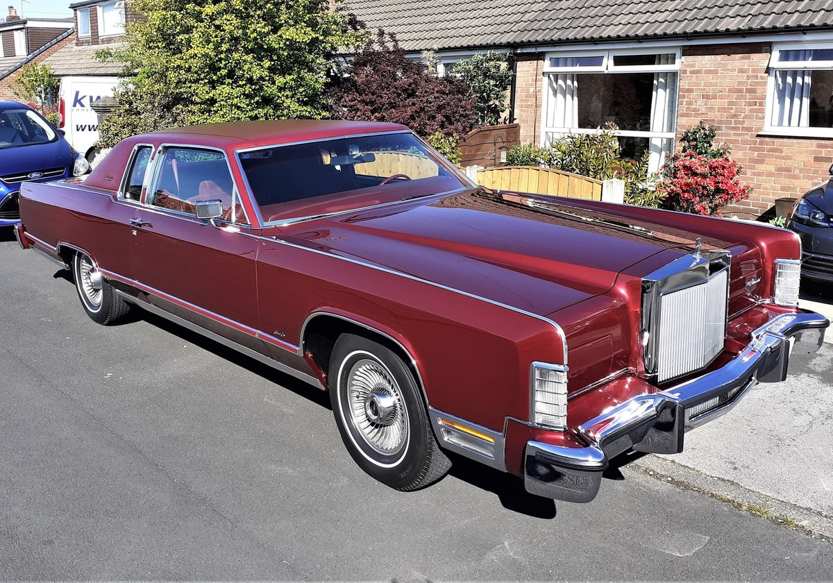 1979 Lincoln Town Coupe only 6400 miles For Sale (picture 1 of 6)