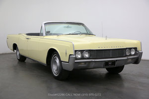 1966 Lincoln Convertible