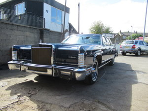 1979 Lincoln continental collector series