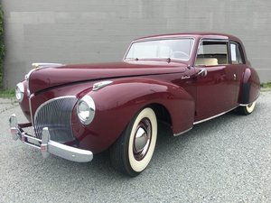 1941 Lincoln Continental V-12 Coupe For Sale by Auction