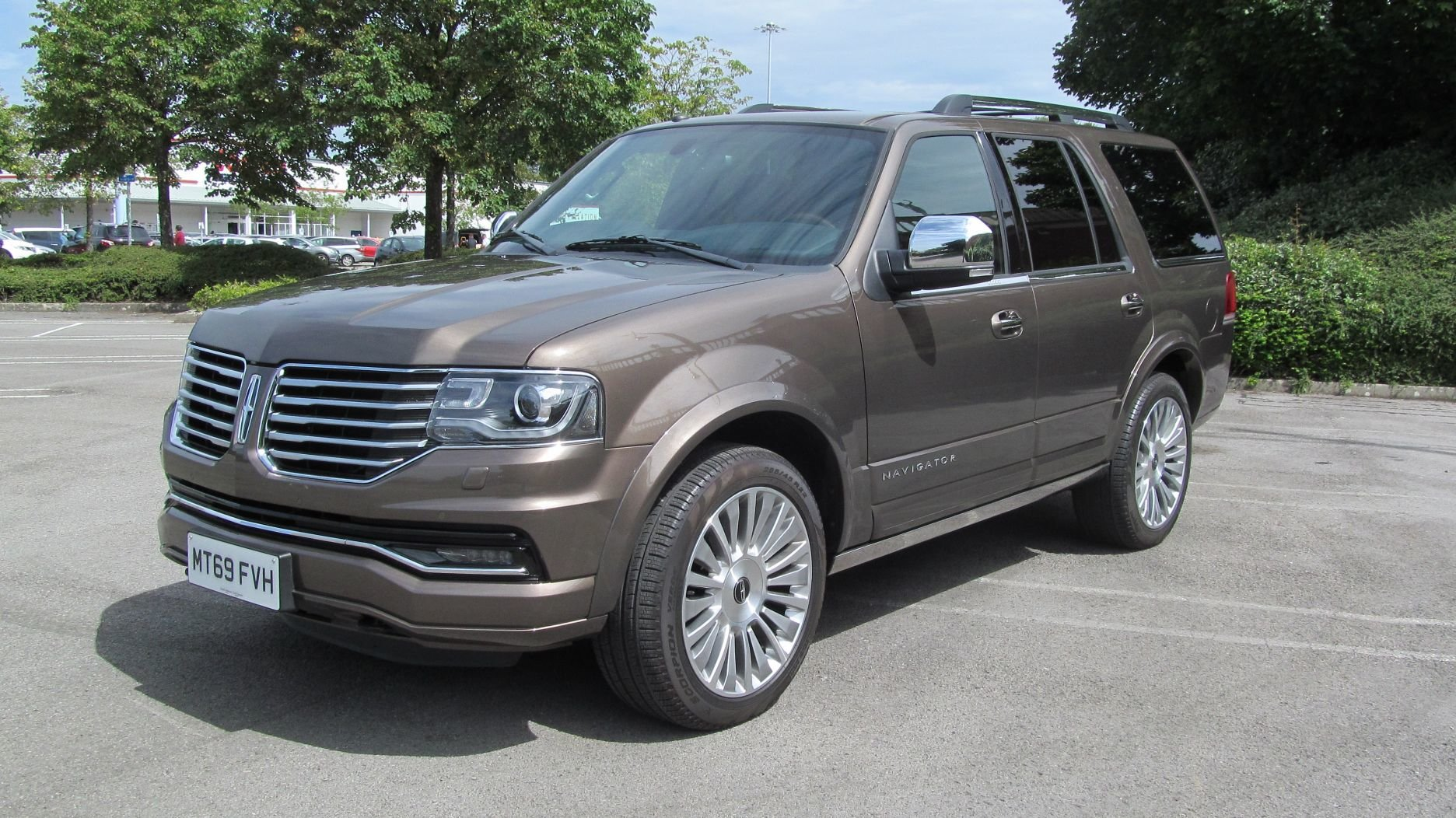 2017 Now Reduced 69 reg Lincoln Navigator Reserve 3.5L V6 4X4 SOLD (picture 1 of 6)