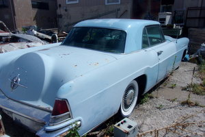 1956 Lincoln Continental Coupe