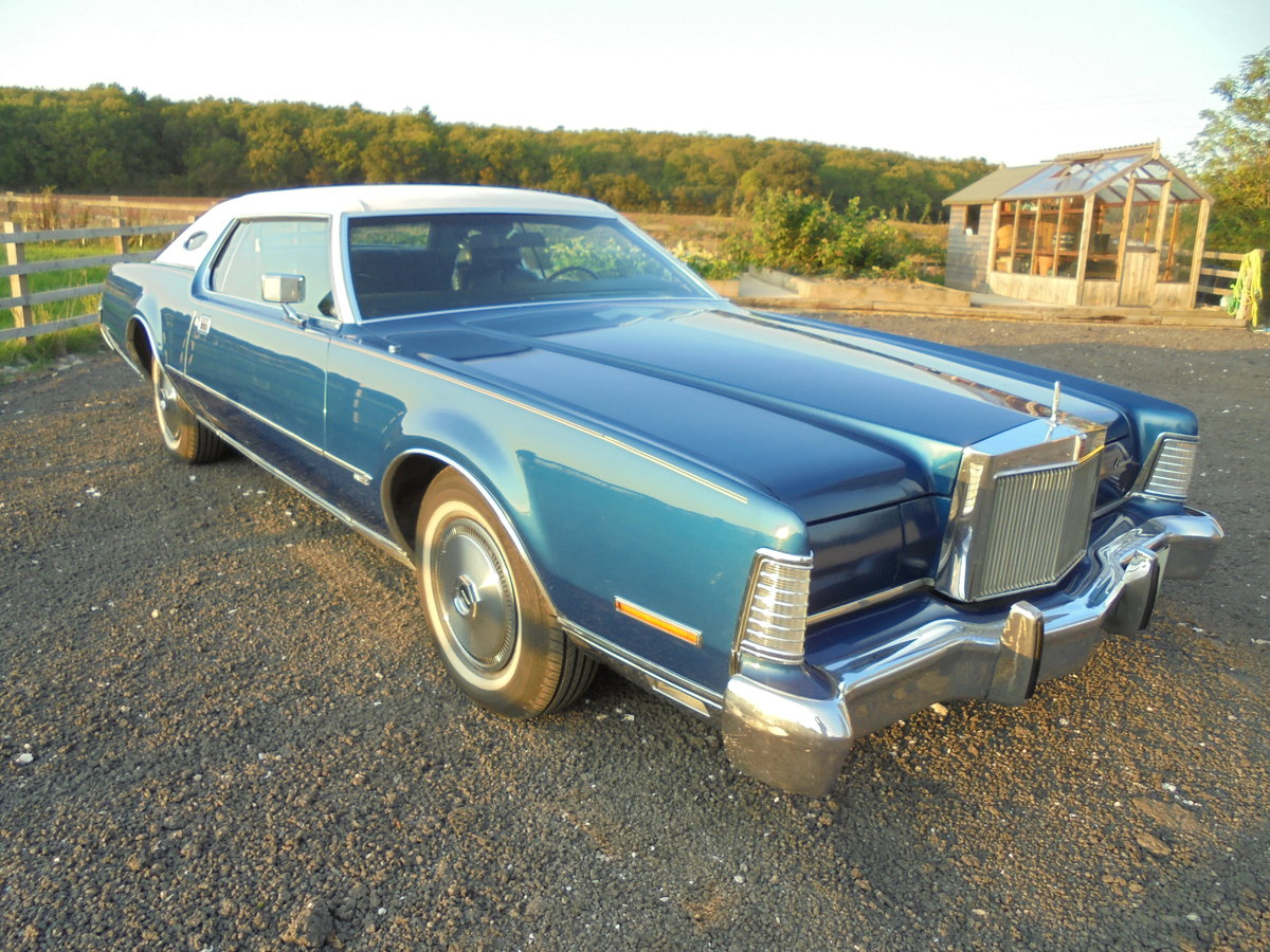1973 Lincoln Continental 2 door For Sale (picture 1 of 6)