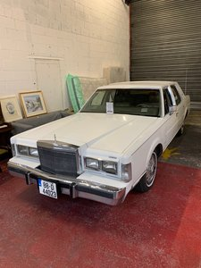 LINCOLN TOWNCAR- 1988 FOR AUCTION 31ST OCT