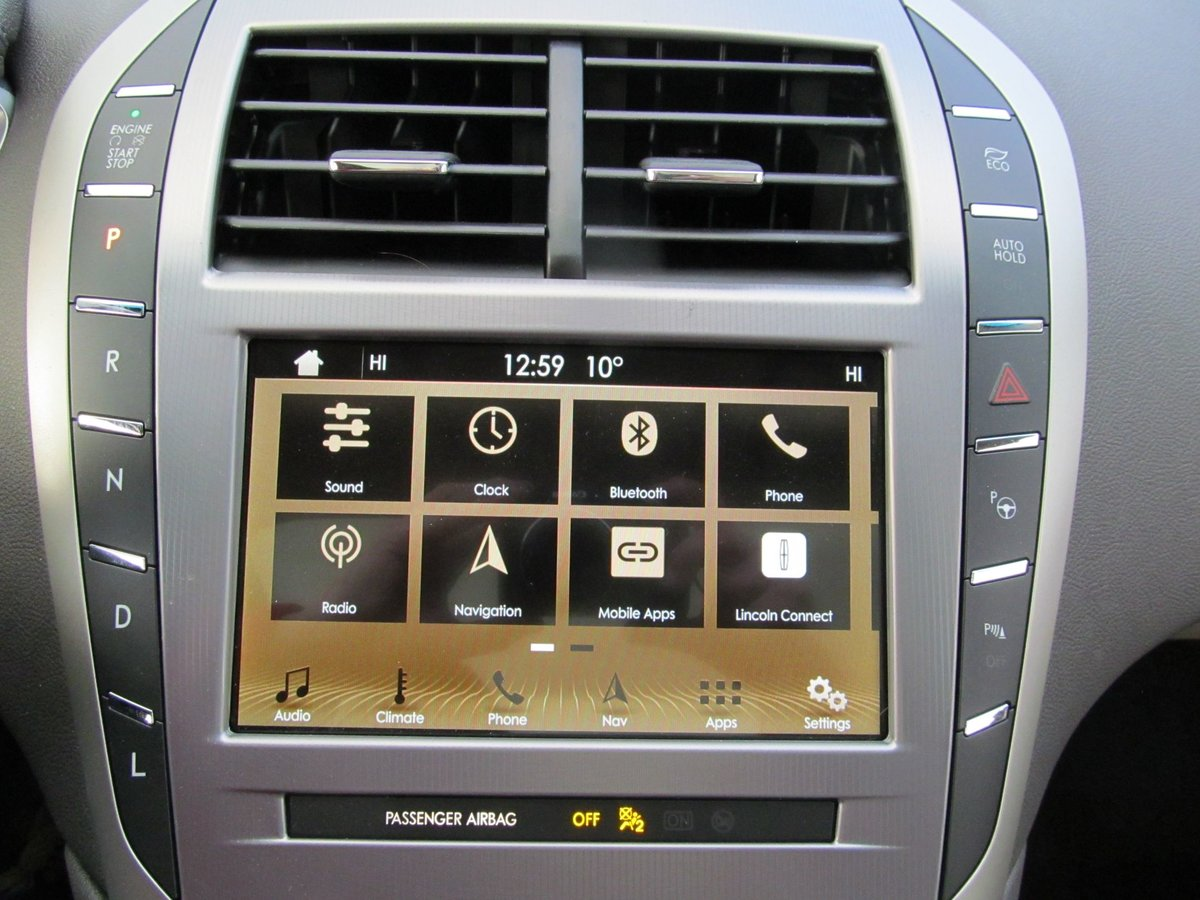 2019 Lincoln MKZ Reserve 2.0L HYBRID Petrol/Electric For Sale (picture 10 of 12)