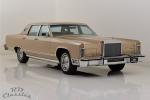 Picture of 1979 Lincoln Continental 4D Town Sedan For Sale