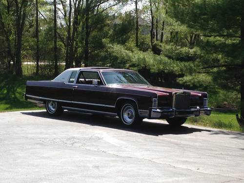 1977 Lincoln Town Coupe For Sale (picture 2 of 6)