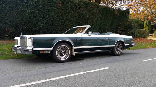 1978 rare lincoln convertable For Sale (picture 1 of 4)