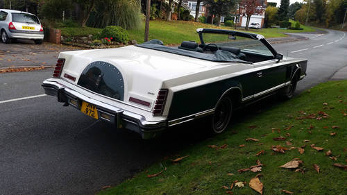 1978 rare lincoln convertable For Sale (picture 3 of 4)