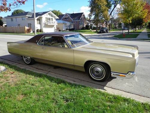 1970 Lincoln Continental 2DR HT For Sale (picture 1 of 6)