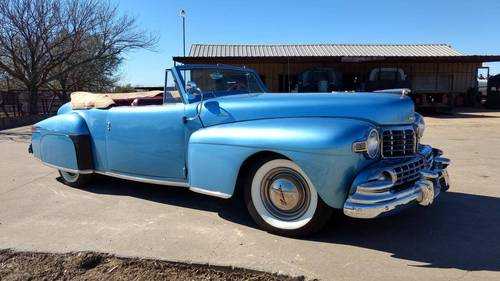 1948 Lincoln Continental Convertible For Sale (picture 1 of 6)