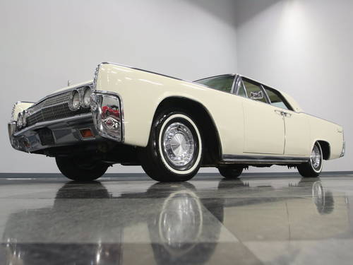 1963 Lincoln Continental 4DR Convertible For Sale (picture 1 of 6)