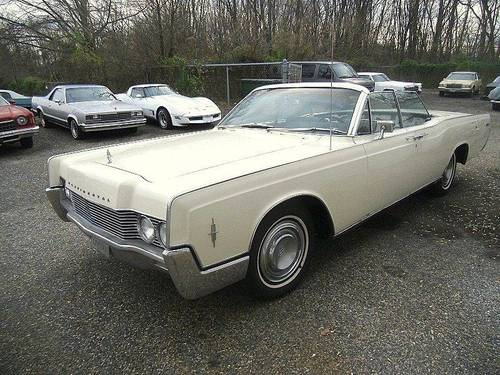 1966 Lincoln Continental 4DR Convertible For Sale (picture 1 of 6)