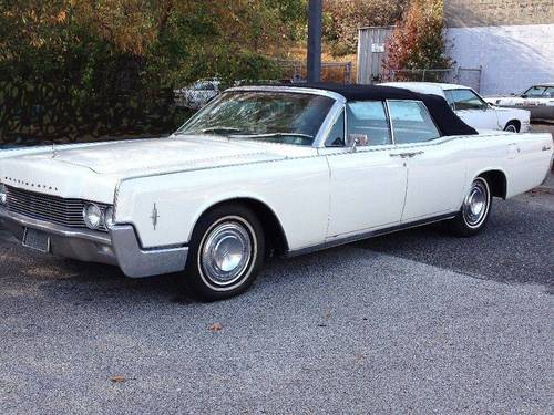1966 Lincoln Continental 4DR Convertible SOLD (picture 2 of 6)