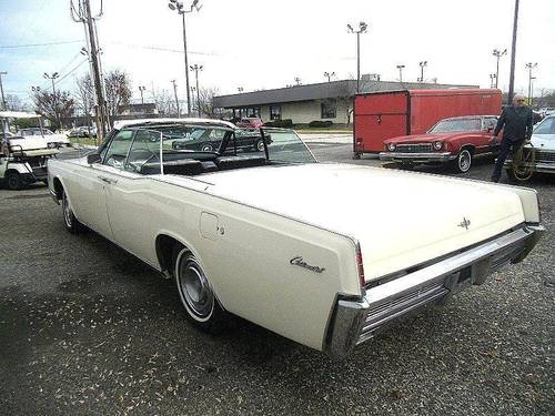 1966 Lincoln Continental 4DR Convertible SOLD (picture 3 of 6)