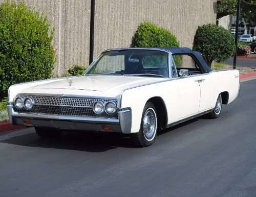1963 Lincoln Continental 4DR Convertible For Sale (picture 2 of 6)
