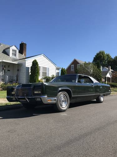 1971 Lincoln continental hardtop coupe For Sale (picture 1 of 6)