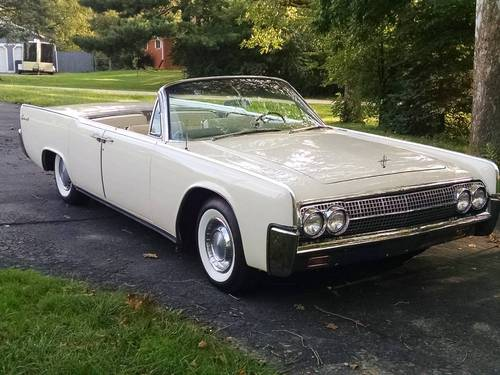 1963 Lincoln Continental 4DR Convertible For Sale (picture 1 of 5)