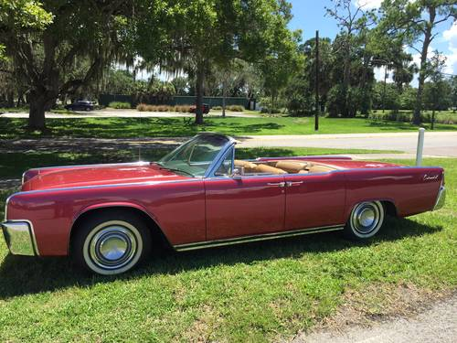 1963 Lincoln Continental 4DR Convertible For Sale (picture 1 of 2)