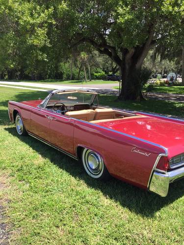 1963 Lincoln Continental 4DR Convertible For Sale (picture 2 of 2)