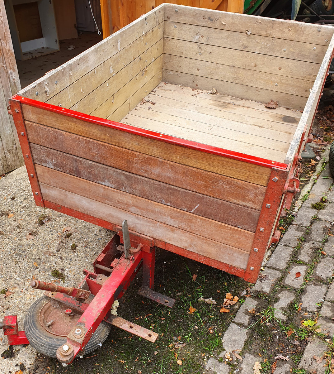 1960 Lister engined powered tipping trailer For Sale (picture 1 of 6)