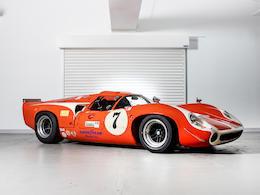 THE EX-CHUCK PARSONS/SIMONIZ 1968 LOLA T70 MK III For Sale by Auction