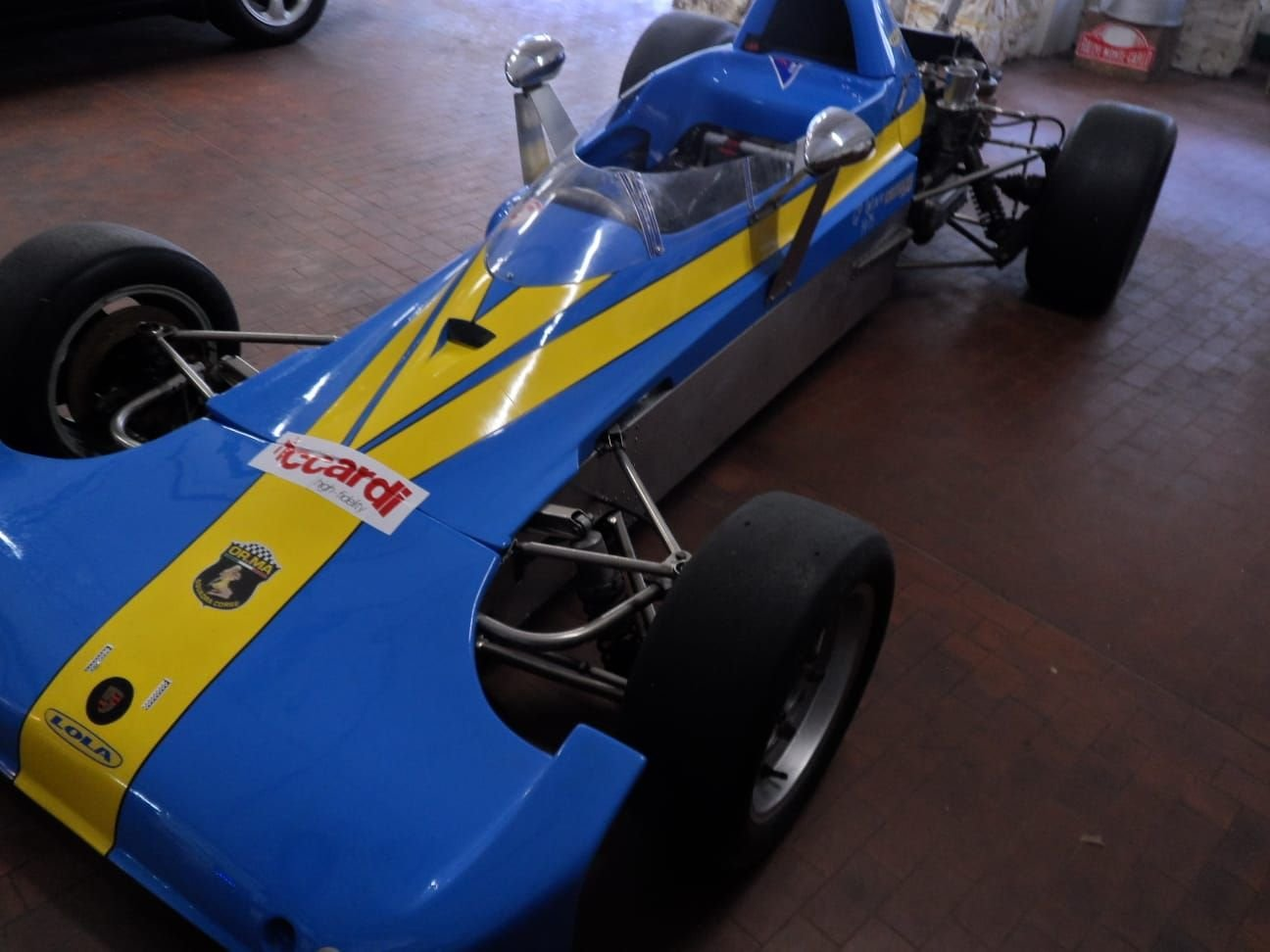 1974 LOLA CHASSIS FORMULA 3 +  Hewland  Gearbox. For Sale (picture 2 of 10)
