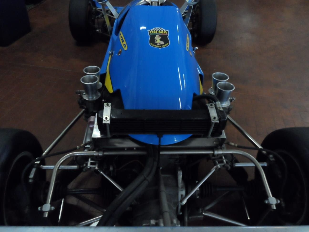 1974 LOLA CHASSIS FORMULA 3 +  Hewland  Gearbox. For Sale (picture 6 of 10)
