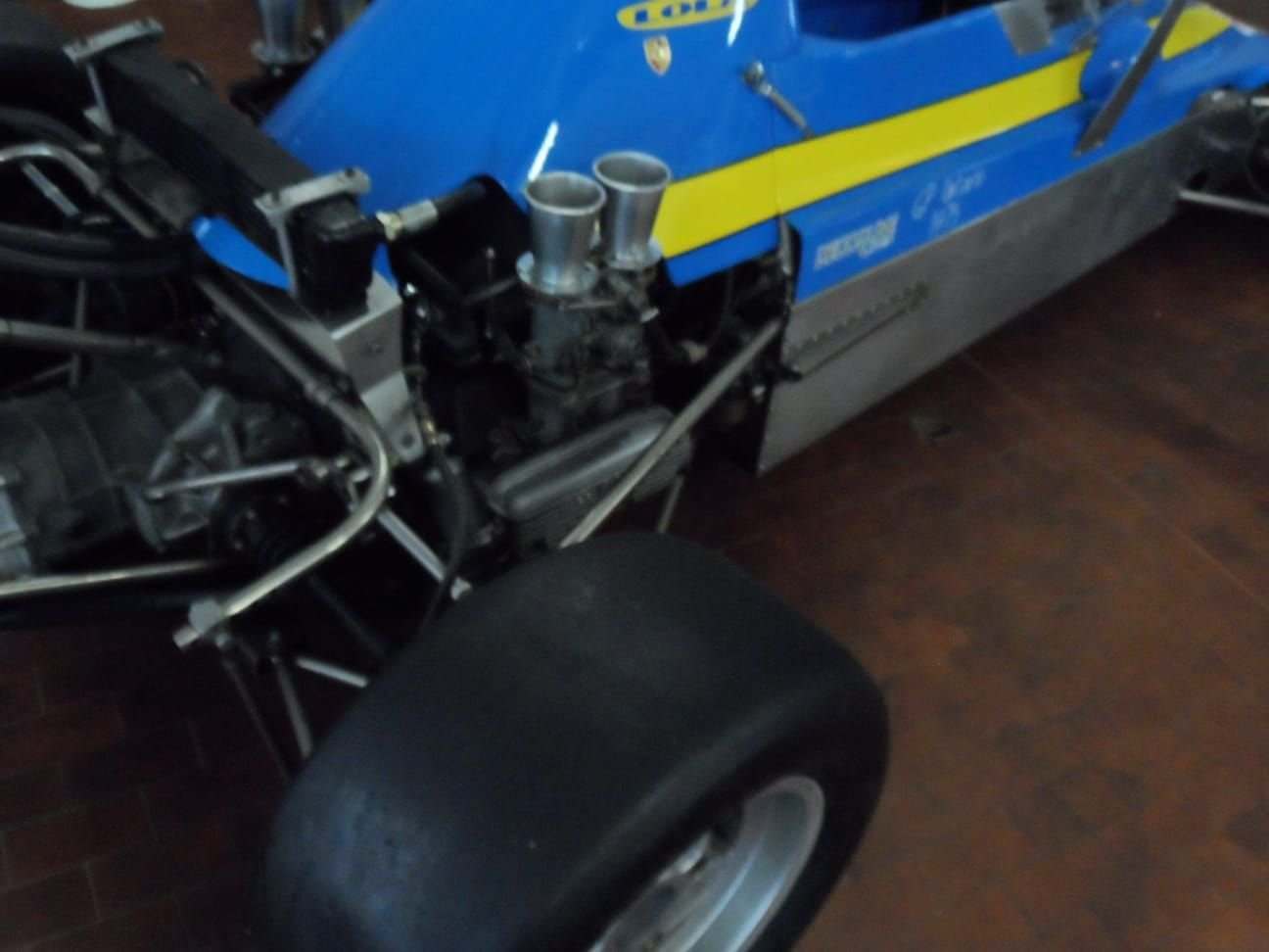 1974 LOLA CHASSIS FORMULA 3 +  Hewland  Gearbox. For Sale (picture 7 of 10)