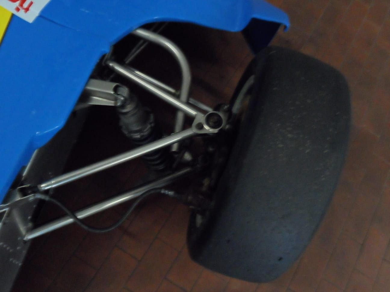 1974 LOLA CHASSIS FORMULA 3 +  Hewland  Gearbox. For Sale (picture 9 of 10)