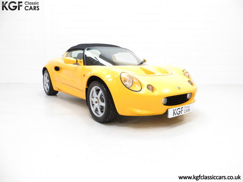 1999 A Lotus Elise 111S with Full Lotus history and 13504 Miles SOLD (picture 1 of 6)