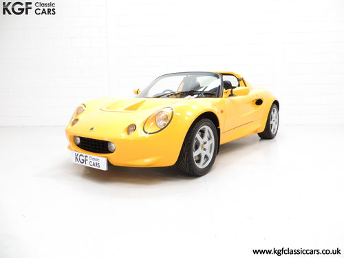 1999 A Lotus Elise 111S with Full Lotus history and 13504 Miles SOLD (picture 2 of 6)