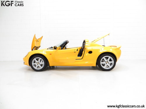 1999 A Lotus Elise 111S with Full Lotus history and 13504 Miles SOLD (picture 3 of 6)