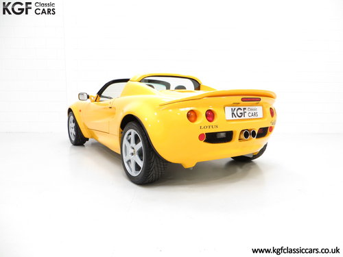 1999 A Lotus Elise 111S with Full Lotus history and 13504 Miles SOLD (picture 4 of 6)