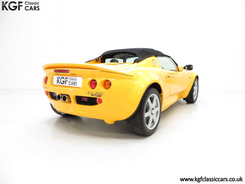 1999 A Lotus Elise 111S with Full Lotus history and 13504 Miles SOLD (picture 5 of 6)